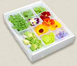 edible flowers selection